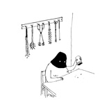 Master pours out tip jar. - New Yorker Cartoon Premium Giclee Print by Edward Steed