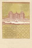 Parterre III - Terra Giclee Print by A. Poiteau