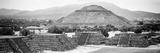 ¡Viva Mexico! Panoramic Collection - Teotihuacan Pyramids VI Photographic Print by Philippe Hugonnard