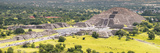 ¡Viva Mexico! Panoramic Collection - Teotihuacan Pyramids VII Photographic Print by Philippe Hugonnard