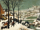 The Hunters in the Snow Giclee Print by Pieter Bruegel the Elder
