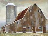 Barn Silo - Abilene Giclee Print by Mark Chandon