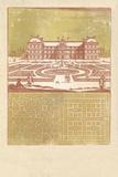 Parterre IV - Terra Giclee Print by A. Poiteau
