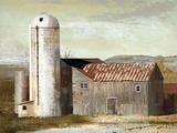 Barn Silo - Lubbock Giclee Print by Mark Chandon