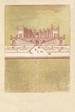 Parterre I - Terra Giclee Print by A. Poiteau