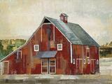 Barn Silo - Midland Giclee Print by Mark Chandon