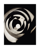 Rayograph Spiral, 1923 Poster di Ray, Man
