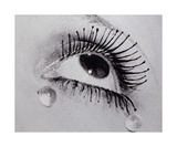 Glass Tears Posters par Man Ray