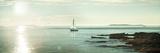 Evening Sail Crop Art by Sue Schlabach