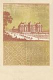 Parterre II - Terra Giclée-tryk af A. Poiteau