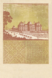 Parterre II - Terra Giclee Print by A. Poiteau