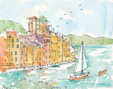 Portofino II Prints by Anne Tavoletti