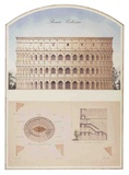 Colosseo (Colosseum Of Rome) Architectural Details Photo