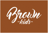 Brown Kids Print