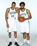 2015 Milwaukee Bucks Media Day Photographie par Gary Dineen