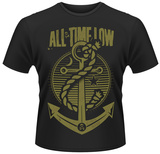 All Time Low- Anchor Pin T-Shirt