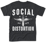 Social Distortion- Winged Wheel Vêtements