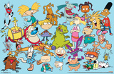 Nick Toons- Characters Collection Posters
