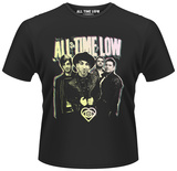 All Time Low- Band Glow Shirts