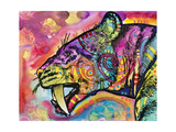 Saber Tooth Giclee Print by Dean Russo