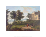 Mount Vernon Giclee Print by Victor De Grailly