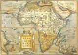 Africae Ta Bula Nova- Antique Map Of Africa Plakater