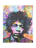 Hendrix 6 Was 9 Giclee Print by Dean Russo