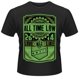 All Time Low- Love Like War Stamp T-shirts