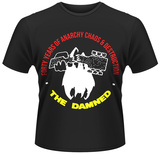The Damned- Forty Years Of Anarchy Chaos & Destruction T-Shirt