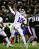 NFL: Eli Manning 2016 Action Photo