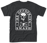 The Offspring- Distressed Smash Tombstone T-Shirt