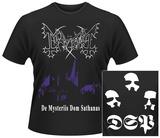 Mayhem- De Mysteriis Dom Sathanas (Front/Back) Vêtements