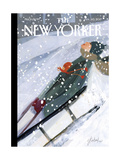The New Yorker Cover - January 30, 2017 Regular Giclee Print by Gayle Kabaker