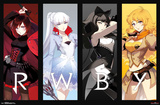 RWBY- Huntresses Logo Posters