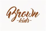 Brown Kids Script Posters
