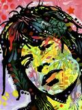 Mick Jagger Giclée-trykk av Dean Russo