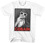 Kurt Cobain- Cigarette & White Sunglasses Vêtements