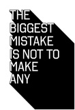 The Biggest Mistake Affiches