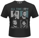 All Time Low- Runaways Panel T-shirts