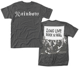 Rainbow- Long Live Rock N Roll (Front/Back) Magliette