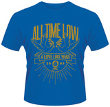 All Time Low- Love Like War Doves Crest T-shirts