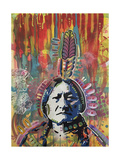 Sitting Bull 1 Giclee Print by Dean Russo