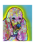 Poodle Giclee Print by Dean Russo
