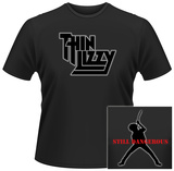 Thin Lizzy- Still Dangerous (Front/Back) T-Shirt