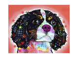 King Charles Giclee Print by Dean Russo