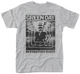 Green Day- Revolution Radio Echo Shirts