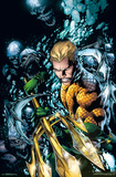 Aquaman- Stand Against the Trench Print