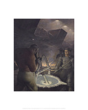 Aluminum Smelting Giclee Print by Robert Riggs