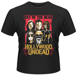 Hollywood Undead- Day Of The Dead Group T-Shirts