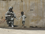 Peace Giclee Print by  Banksy